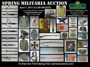 Spring Militaria Auction