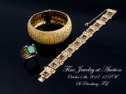 Vintage Estate Antiques, Fine Art; Jewelry Auction