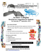 E- Liber 2014 Book Review Competition for Students