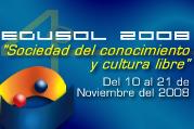 Cuarto Encuentro en Línea de Educación y Software Libre, EDUSOL 2008