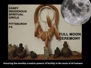 Taino Indigenous Full Moon Ceremony