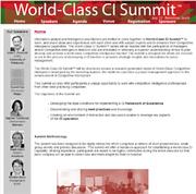 World-Class CI Summit™