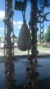"Mother Goddess Rearview Mirror ""Altar"""