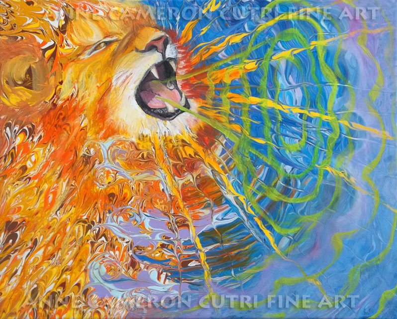 Prophetic Message sketch 25 Lion of Judah Awakens with a Roar