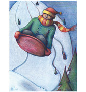 Sledding, Schmooze and Stories - Sled and Story Swap