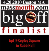 the big mouthoff - slam of all slammers - APRIL 20th