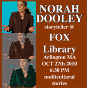Norah Dooley @ Fox Library - free Storytelling events for Families
