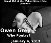 Owen Grey featuring at Speak Up!