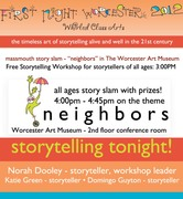 1st Night Worcester - story slam!