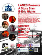LANES the Northeast Storytelling Conference Presents The Regional Story Slam