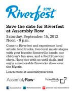 Riverfest at Assembly Row Somerville with Andrea Lovett 3PM