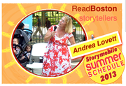 Read Boston and  Storyteller Andrea Lovett
