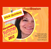 Alicia Quintano - storytelling for ReadBoston
