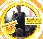 ReadBoston Norah Dooley at 3 sites