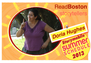 Doria Hughes tells for ReadBoston