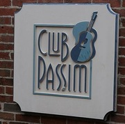 "Story slam at Club Passim:  ""Perfect"""