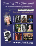 Sharing the Fire Storytelling Conference April 1st-thru 3rd
