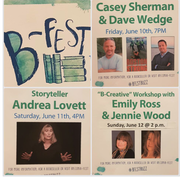 B-Fest Barnes and Nobles Braintree with Andrea Lovett