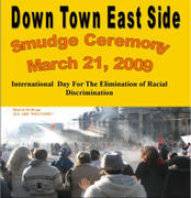 Downtown Eastside Smudge Ceremony