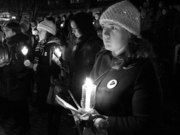 Women Won't Forget December 6th Candlelight Vigil