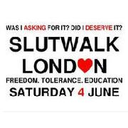 Slutwalk London England
