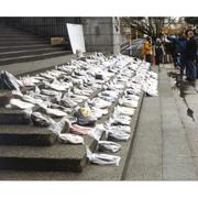 December 6th Shoe Memorial - Vancouver