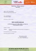 Informationsabend (seitens Wiener Wohnen)