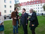 Besuch von Stadtrat Dr. Ludwig im Hugo Breitner Hof