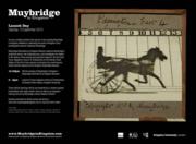 Muybridge in Kingston launch day`