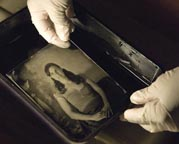 Dry and Wet Plate Collodion on Glass