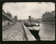 A Tale of Two Cities:  Eugene Atget's Paris and Berenice Abbott's New York