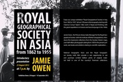 Royal Geographical Society in Asia from 1862 to 1955