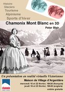 Chamonix Mont Blanc in 3D - a Victorian virtual reality presentation!