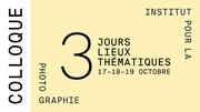 Symposium - Institut pour la photography