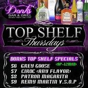 Top Shelf Thursdays