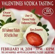 Valentine's Vodka Tasting at the Cave