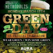Green Day- St. Patrick's Day Celebration