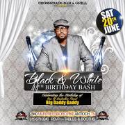 Black and White Birthday Bash