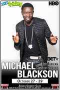 Michael Blackson at Zanies