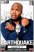 Earthquake at Zanies