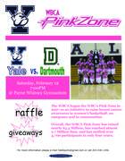 Yale Women's Basketball PinkZone Game