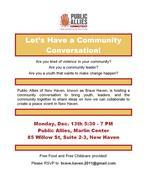 New Haven Community Conversation