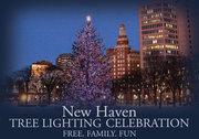 New Haven Tree Lighting Ceremony