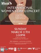 INTAKE: International Women's Day Concert