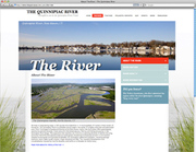 Quinnipiac River Website Launch Party