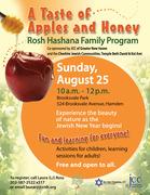 Taste of Apples & Honey