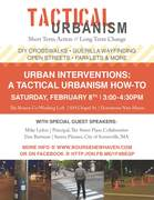 Urban Interventions: A Tactical Urbanism How-To