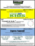 Biz-E-Kid$ Entrepreneurs Summer Program
