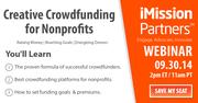 Webinar: Creative Crowdfunding for Nonprofits