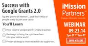 Webinar: Success with Google Grants 2.0